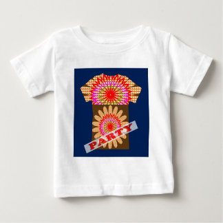 PARTY Sonnenblume SONNE Chakra Mightyshirt Baby T-shirt
