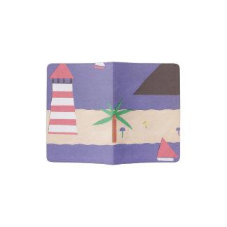 Pass-Abdeckung mit Seeszene Passhülle