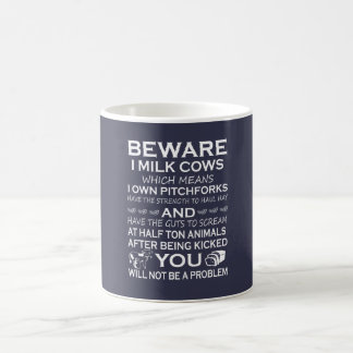 Passen Sie i-Milch-Kühe auf Tasse