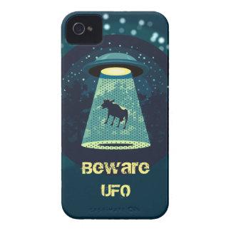 Passen Sie UFO auf iPhone 4 Cover