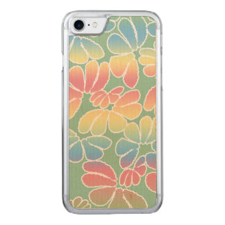 Pastellfarbewunderliches Ikat Carved iPhone 8/7 Hülle