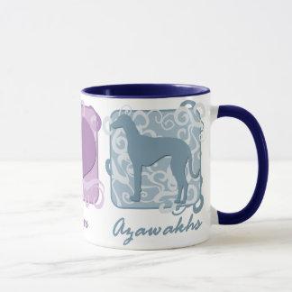 Pastellfrieden, Liebe und Azawakhs Tasse