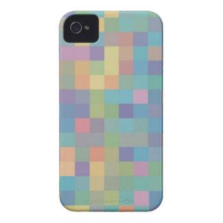 Pastellregenbogen-Pixel-Muster iPhone 4 Hülle