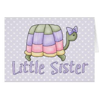Pastellschildkröte-kleine Schwester Karte
