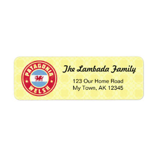 Patagonia-Waliser-Adressen-Etiketten