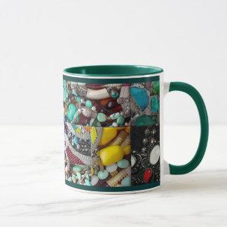 Patchwork der Perlen-Tasse Tasse