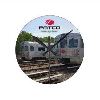 PATCO Kreis-Wanduhr Runde Wanduhr