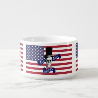 Patriotische amerikanische Flagge Kleine Suppentasse
