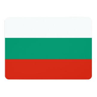 Patriotische Einladungen mit Bulgarien-Flagge