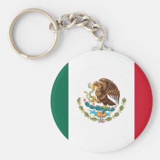 Patriotische mexikanische Flagge Schlüsselanhänger