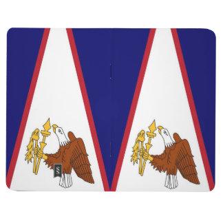 Patriotische Zeitschrift mit Flagge von American Taschennotizbuch