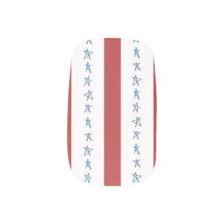 Patriotischer Nagel-Entwurf Nagelaufkleber