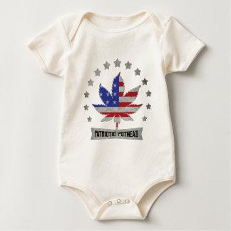 Patriotischer Pothead-Licht-T - Shirt