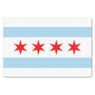 Patriotisches Seidenpapier mit Flagge von