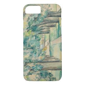 Paul Cezanne - Allee der Kastanienbäume iPhone 8/7 Hülle