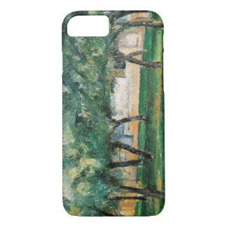 Paul Cezanne - Bauernhof in Normandie iPhone 8/7 Hülle