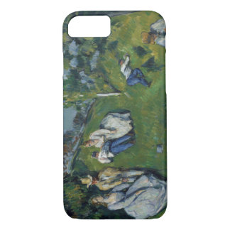 Paul Cezanne - der Teich iPhone 8/7 Hülle