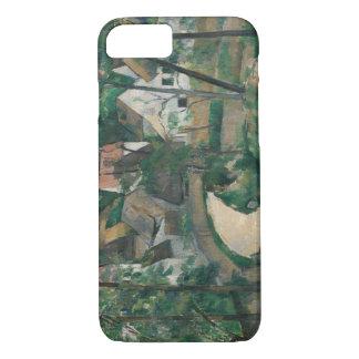 Paul Cezanne - drehen Sie sich in die Straße iPhone 8/7 Hülle