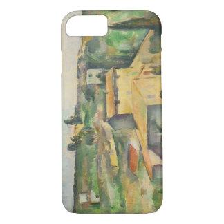 Paul Cezanne - Felder bei Bellevue iPhone 8/7 Hülle