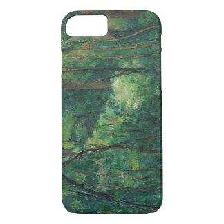 Paul Cezanne - Innenraum eines Waldes iPhone 8/7 Hülle
