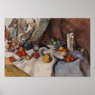 Paul Cezanne - Natur Morte Poster