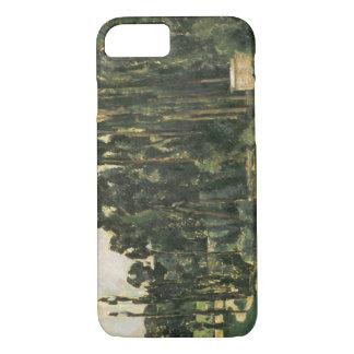 Paul Cezanne - Pappeln iPhone 8/7 Hülle