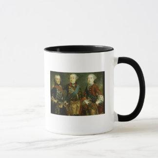 Paul, Frederick II und Gustav Adolph von Schweden Tasse