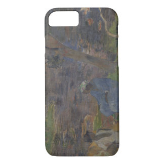 Paul Gauguin - auf dem Ufer des Sees iPhone 8/7 Hülle