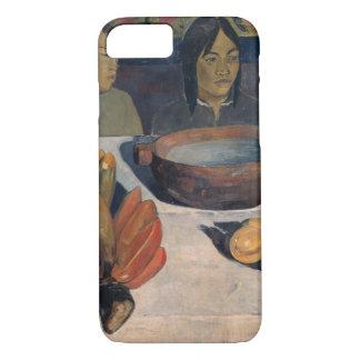 Paul Gauguin - die Mahlzeit iPhone 8/7 Hülle