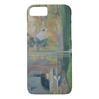 Paul Gauguin - Landschaft in Bretagne iPhone 8/7 Hülle