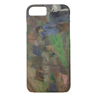 Paul Gauguin - Landschaft von Bretagne iPhone 8/7 Hülle