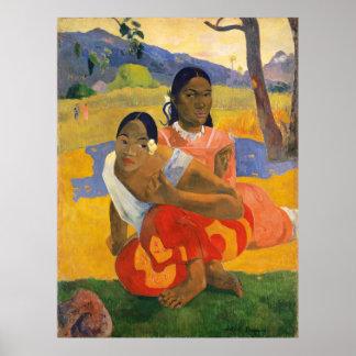 PAUL GAUGUIN - Nafea faa ipoipo 1892 Poster