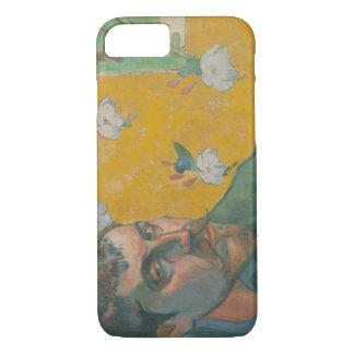 Paul Gauguin - Selbstporträt mit Porträt iPhone 8/7 Hülle