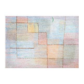 Paul Klee-Erklärung Leinwanddrucke
