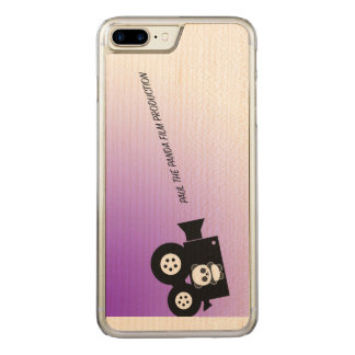 Paul Panda Film Company Carved iPhone 8 Plus/7 Plus Hülle
