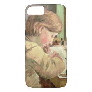 Paul-Schreiben, c.1894 (Öl auf Leinwand) iPhone 8/7 Hülle