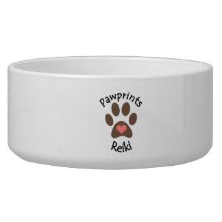 Pawprints Reiki Haustierschüssel Napf