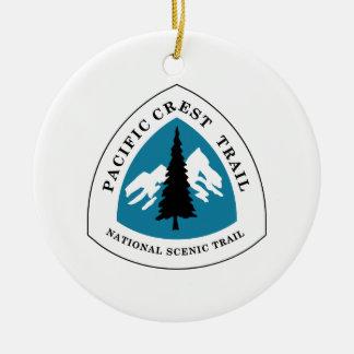Pazifische Wappen-Spur Keramik Ornament