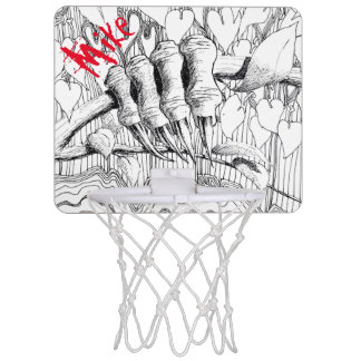 PAZUR Minibasketball-Ziel Mini Basketball Ringe