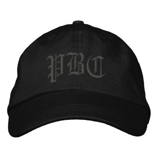 PBC gestickter Hut Bestickte Kappe