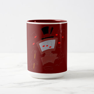 PC-Entertainer Zweifarbige Tasse