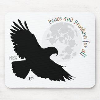 Peace for all Mauspad