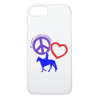 PEACE-LOVE-RIDING iPhone 8/7 HÜLLE