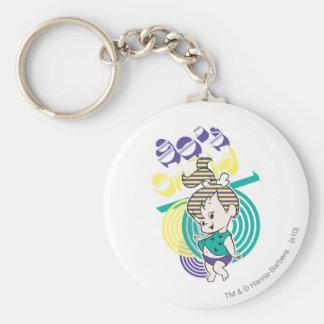 PEBBLES™ Achtzigerjahre Kind Schlüsselanhänger