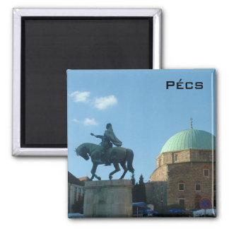 Pecs - Moschee Quadratischer Magnet