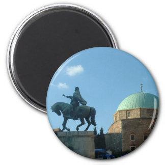 Pecs - Moschee Runder Magnet 5,1 Cm