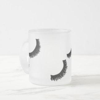 Peitschen-Tasse Matte Glastasse