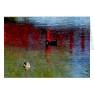 Peking-Ente Grußkarte