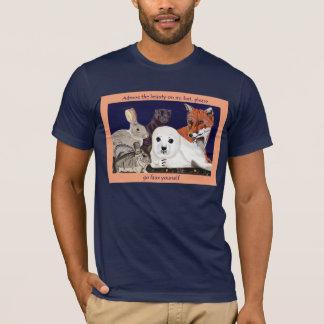Pelz ist für Wunder, nicht Abnutzung OM-T-Stück T-Shirt