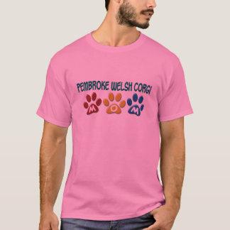 PEMBROKE-WALISERCORGI Mamma-Tatzen-Druck 1 T-Shirt